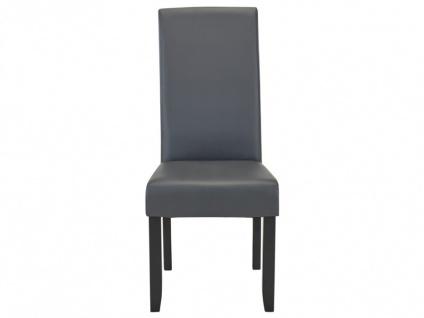 Stuhl 2er-set Rovigo - Grau - Vorschau 4