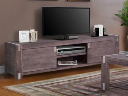 TV-Möbel Oakland - 2 Türen & 2 Nischen - Wenge