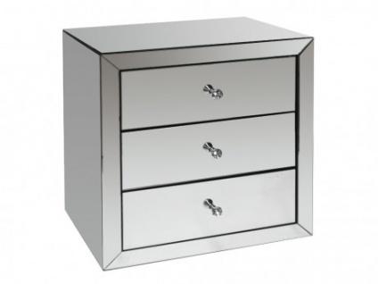Nachttisch Design GLACIA - 3 Schubladen