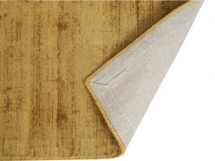 Teppich LOUVAIN - 100% Viskose - 200x290 cm - Senfgelb - Vorschau 2
