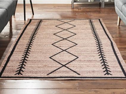 Teppich Ethno-Stil BANGALORE - Jute - 160x230cm - Vorschau 3