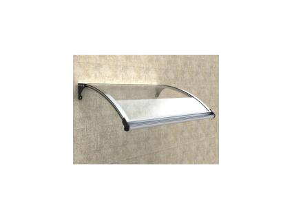 Vordach Aluminium NEONED - 120x100cm