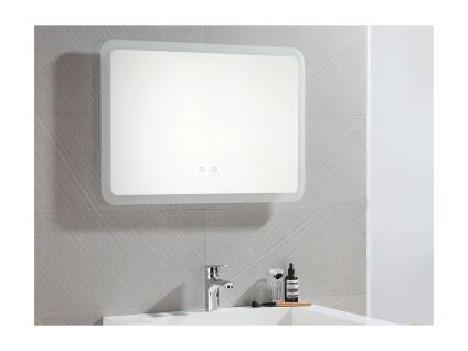 Spiegel mit LED-Beleuchtung ORBITEA - B70 x H50 cm - Vorschau 3