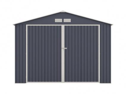 Garage NERON - Stahl - Grau - 18, 7 m² - Vorschau 3