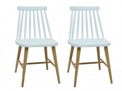 Stuhl 2er-Set Polypropylen DAGMAR - Weiß