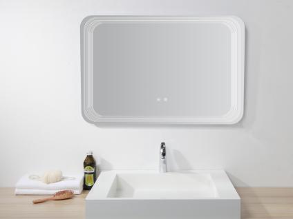 Spiegel mit LED-Beleuchtung AGLAE - B 90 x H 60 cm - Vorschau 3
