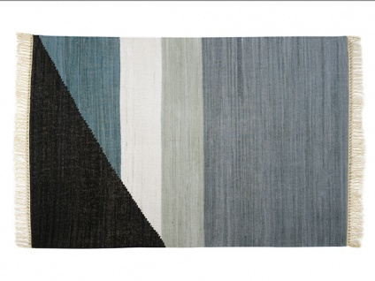 Kelim-Teppich handgewebt MYCENE - Baumwolle - 200x290cm