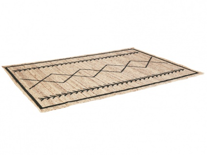 Teppich Ethno-Stil BANGALORE - Jute - 160x230cm - Vorschau 4