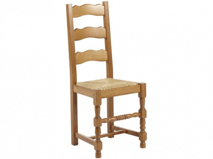 Stuhl 2er-Set Holz massiv Segu - Vorschau 4