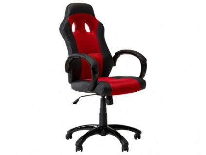 Bürostuhl Driver - Höhenverstellbar - Rot