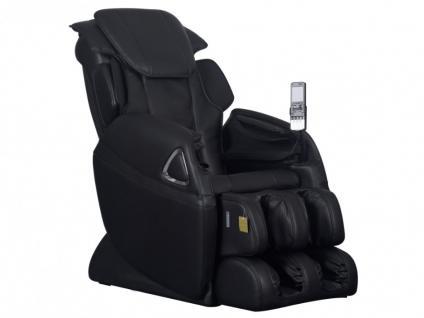 Massagesessel LETO - Zero Gravity Technik - Schwarz