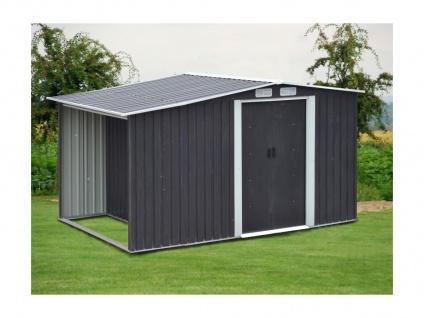 Gerätehaus Gartenhaus LERY - Stahl - 6m²
