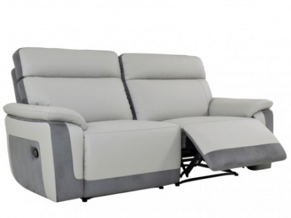Relaxsofa Microfaser 2-Sitzer ANAFI