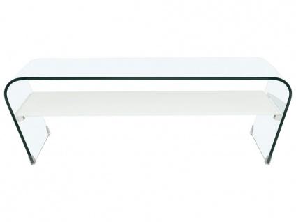 Couchtisch Glas Design KELLY - Weiß - Vorschau 2