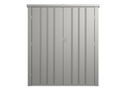Garten-Aufbewahrungsschrank SEVY - Stahl - Grau - 1, 24 m² - Vorschau 3