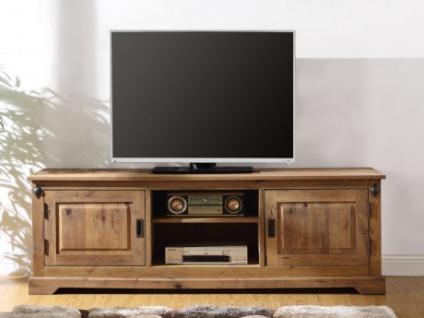 tv mobel holz ysandre 2 turen 2 ablagen