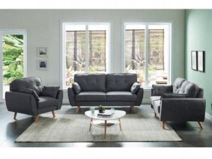 Couchgarnitur Stoff 3+2+1 MELINA