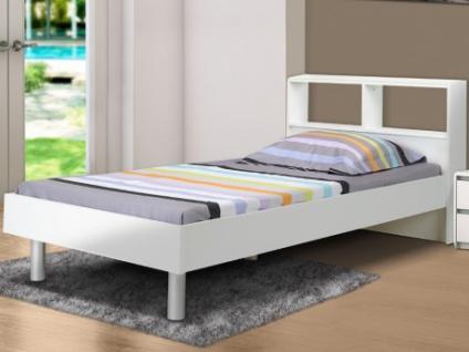 einzelbett mit stauraum, bett mit stauraum lucile - 90x190cm - kaufen bei kauf-unique.de, Design ideen