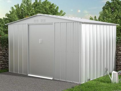 Gartenhaus Gerätehaus LINUS - Stahl - 7, 82 m²