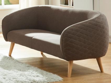 2-Sitzer-Sofa Stoff PENNY - Braun