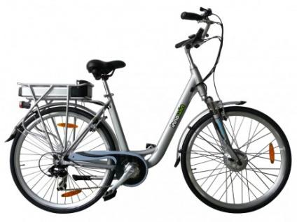 Pedelec E-Bike 36V 26 Zoll Belair II - Silber
