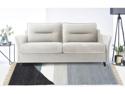 Kelim-Teppich handgewebt MYCENE - Baumwolle - 160x230cm - Vorschau 2