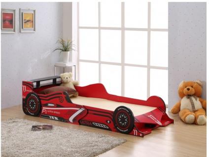 Kinderbett Spielbett FORMEL 1 + Lattenrost - 90x190 cm