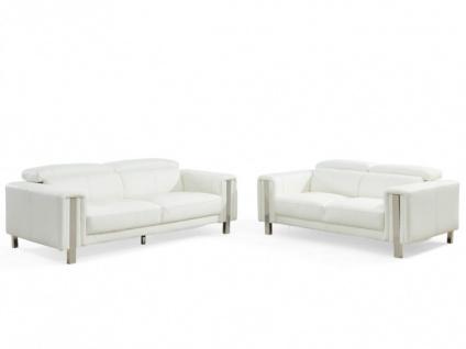 Couchgarnitur 3+2 MAROUA - Weiß - Vorschau 4