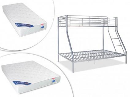 Etagenbett Mit Lattenrost Und Matratze : Set etagenbett elevatio iii lattenrost matratzen