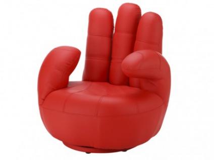Fingersessel Catchy - Drehbar - Rot