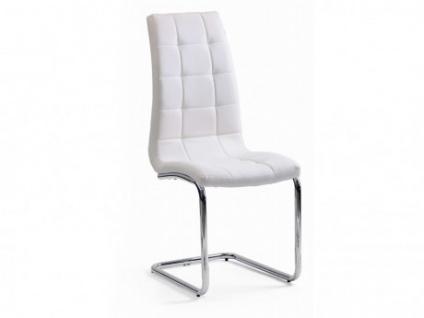 Stuhl 6er-Set Nadia - Weiß