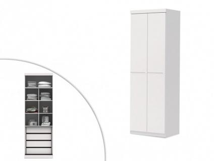 Kleiderschrank Alvin - 2 Türen - Vorschau 3