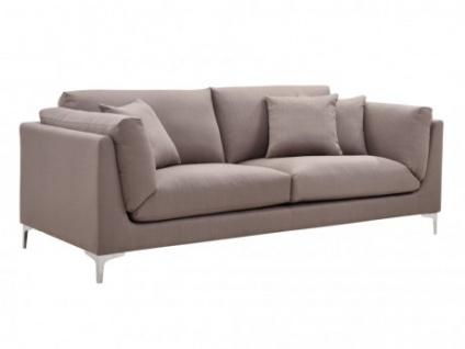 3-Sitzer-Sofa Stoff FLAKE - Taupe
