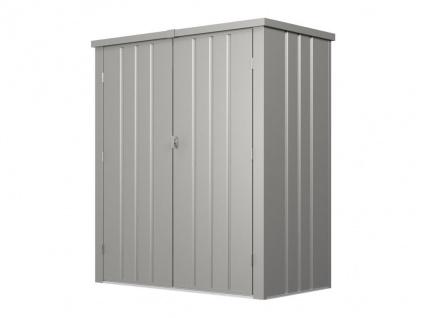 Garten-Aufbewahrungsschrank SEVY - Stahl - Grau - 1, 24 m² - Vorschau 5