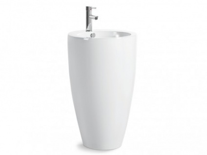 Standwaschbecken Keramik Milos