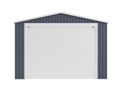 Garage mit Rolltor OCTOU - Stahl - Grau - 19, 5 m² - Vorschau 3