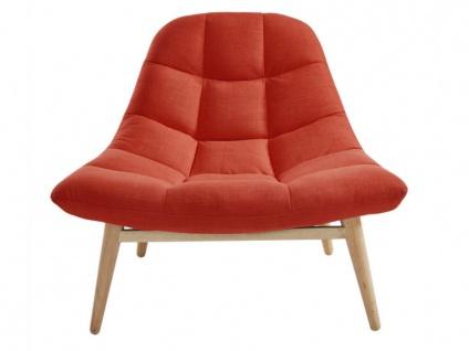 Lounge-Sessel Stoff Kribi - Orange - Vorschau 2