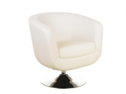 Lounge-Sessel Bowling - Weiß