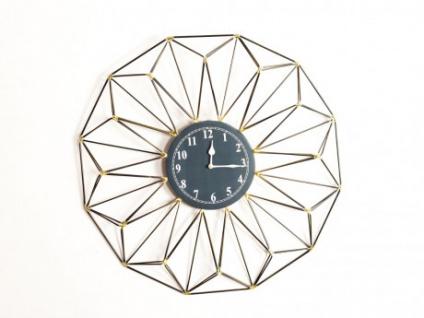Geometrische Wanduhr Eisen YSIA - Durchmesser: 61 cm - Vorschau 1