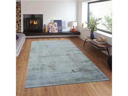 Teppich LOUVAIN - 100% Viskose - 200x290 cm - Silbergrau - Vorschau 2