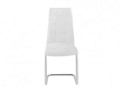 Stuhl 6er-set Nadya - Weiß - Vorschau 4
