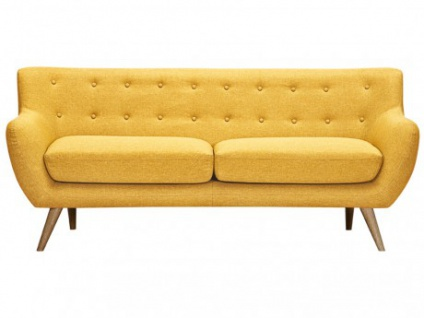 3-Sitzer-Sofa Stoff Serti - Honiggelb