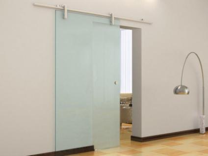 Glasschiebetür Sicherheitsglas CLEAVER - H 205 x B 83 cm