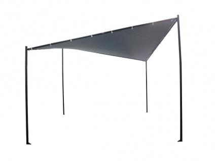 Gartenpavillon MORESBY - Stahl -Anthrazit - B350 x T350 x H290 cm - Vorschau 4