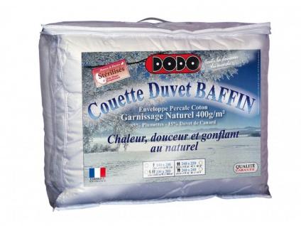Federbettdecke Daunenbettdecke BAFFIN von DODO - 240x260cm - Vorschau 3
