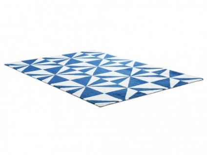 teppich polyester artik handgetuftet 160x230cm blau kaufen bei kauf. Black Bedroom Furniture Sets. Home Design Ideas