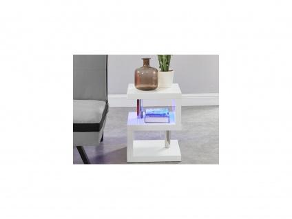 Nachttisch mit LED-Beleuchtung LYLIA