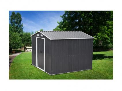 Gerätehaus Gartenhaus MANSO - Stahl - 7m²
