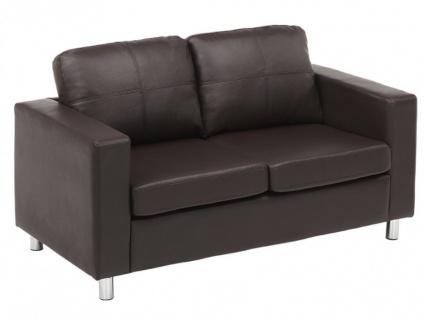 Sofa 2-Sitzer Ackley - Braun - Vorschau 3