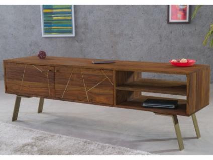 TV-Möbel ORPHEA - 2 Türen & 2 Schubladen